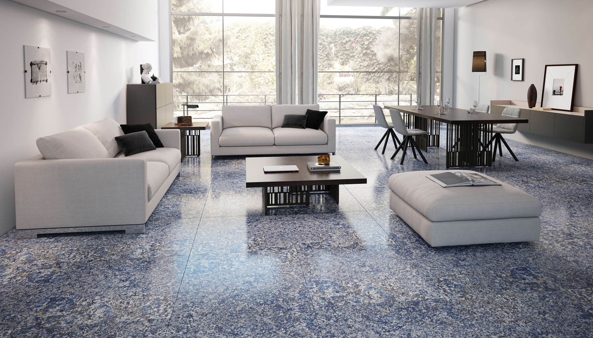 Color trends-Serene Blue